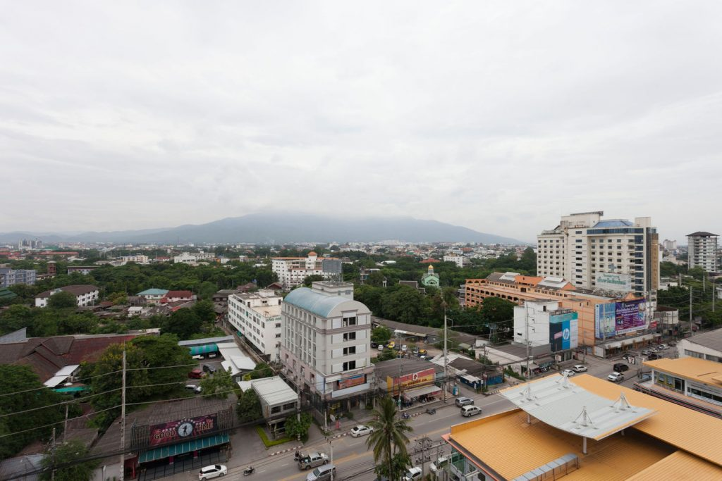 Over view of Chiang Mai & Doi Suthep hills