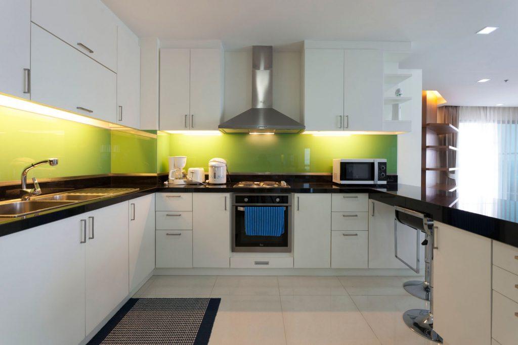 Huge European style kitchen
